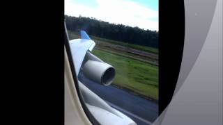 preview picture of video 'attérissage corsairfly pointe à pitre'