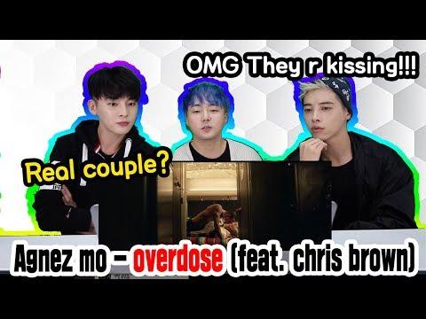★Reaksi★  Artis Korea!  AGNEZ MO - Overdose (ft. Chris Brown)