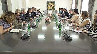 Встреча Зограба Мнацаканяна с председателем Совета департамента Буш-дю-Рон Мартином Вассалом