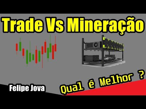 Mineração Vs Trade, Qual é Melhor ???