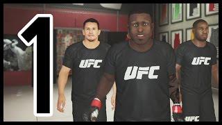 UFC 2 Career Mode Ep.1 - Ooooooo KILL EM! | UFC 2 Gameplay