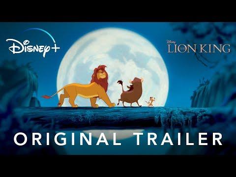 Video trailer för The Lion King   Original Trailer   Disney+