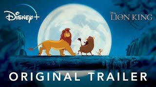 The Lion King | Original Trailer | Disney+