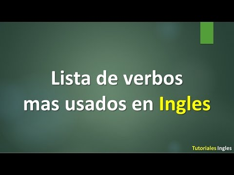 Tutoriales Inglés
