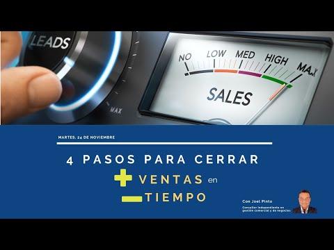 Webinar 4 pasos para vender más en menos tiempo[;;;][;;;]