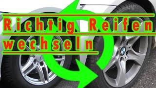 Reifen in 5 Schritten selbst wechseln - aber richtig!