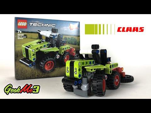 Vidéo LEGO Technic 42102 : Mini CLAAS XERION