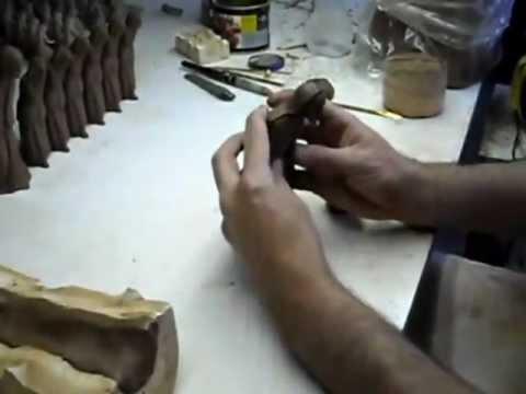 Como se hacen las figuras del Pesebre  .Figuritas para el Belén