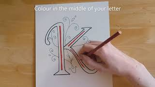 15 Minute Craft Illuminated Letter