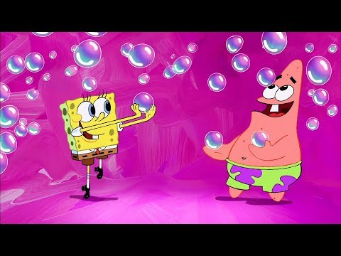 The spongebob squarepants movie  bubble blowin  39  double babies  the thug tug  hd clip