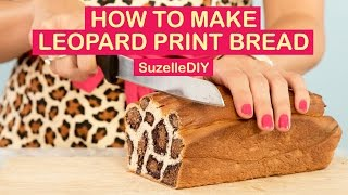 How To Make Leopard Print Bread