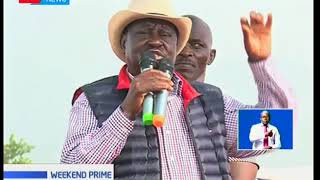NASA leader Raila Odinga has dismissed claims of cracks in the opposition outfit