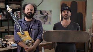 #ArtBox - Skate Guitar, las guitarras seducen a Tony Hawk y Pearl Jam - Gravedad Zero Tv