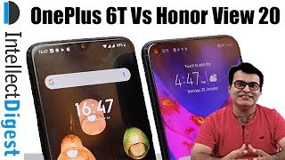 Honor View 20 VS OnePlus 6T Detailed Comparison