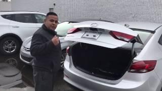 2017 Hyundai Elantra Hands-Free Smart Trunk
