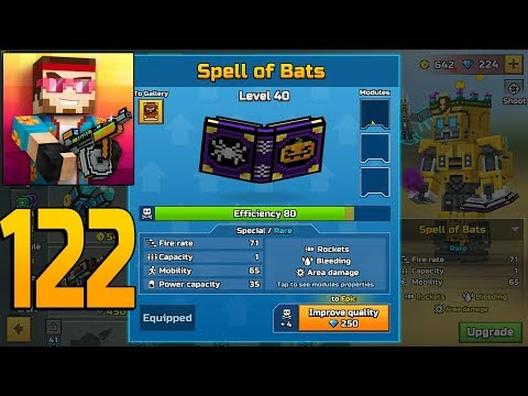 Pixel Gun 3D - Gameplay Walkthrough Part 122 - Spell of Bats