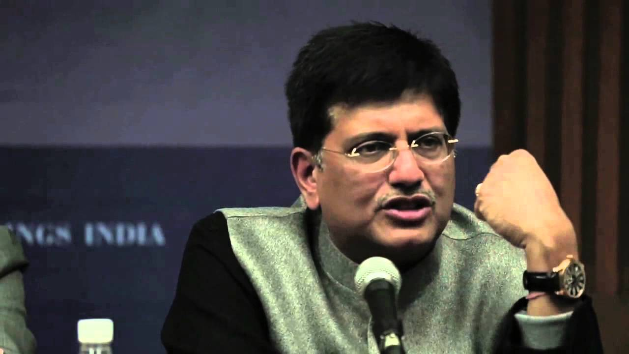 Minister Piyush Goyal on the future of renewables in India