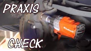 Einhell Akku Schlagschrauber X-Change TE-CW 18Li Unboxing und Praxistest