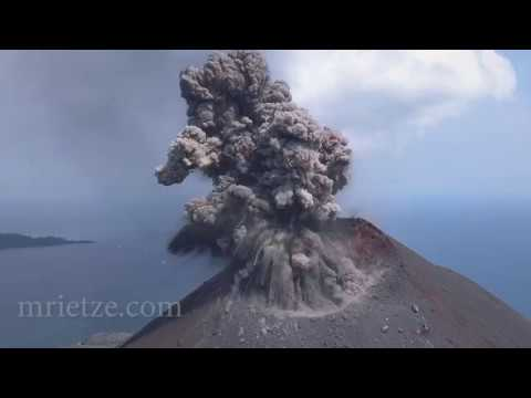 Amazing Archived Footage From a 2018 Volcano Eruption
