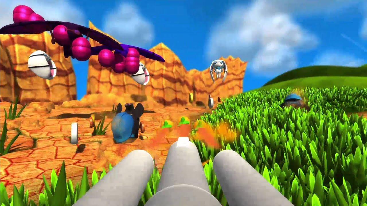 El shooter de dibujos animados Blast 'Em Bunnies llega a PS4 y PS Vita el mes que viene