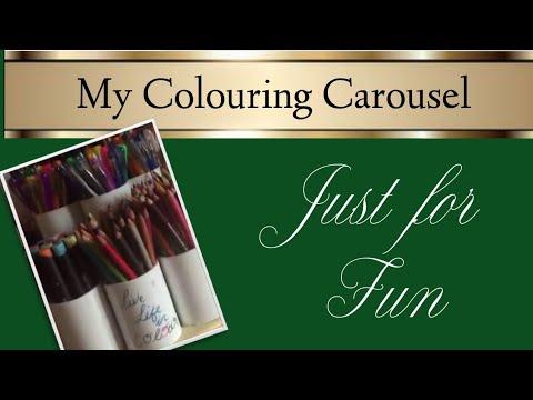 My pen & pencil carousel!