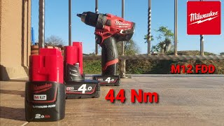 Milwaukee M12 FDD 402x Gen 2 Model 2503 screwdriver  small and  stronger Unboxing/ Test