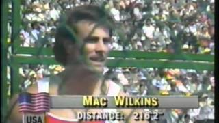 1988 Olympics - Men's Discus Throw