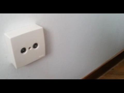 Añadir toma antena television en otra habitacion