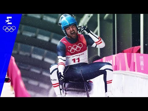 Luge | Men's Singles Highlights | Pyeongchang 2018 | Eurosport