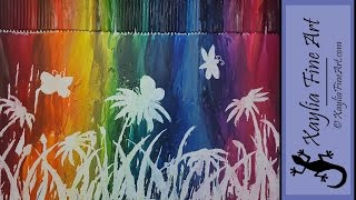 Tutorial: How To Melt Crayons To Create Artwork