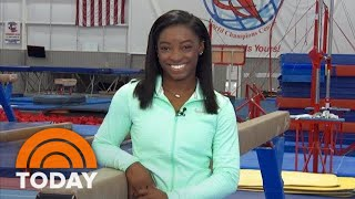Simone Biles Opens Up About Incredible Victory At Gymnastics Championships: 'I Am Human' | TODAY