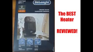 Delonghi HFX60O15l Heater Reviewed -- The BEST space heater