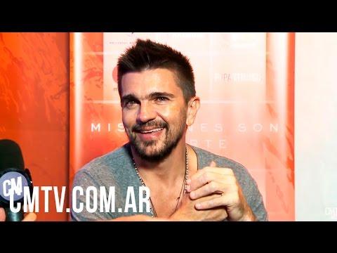 Juanes video Entrevista Argentina - Abril 2017