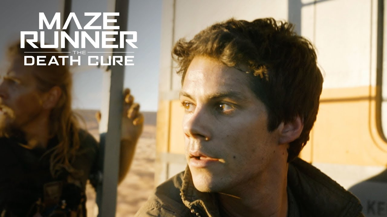 Maze Runner: The Death Cure - Train Chase Full Scene