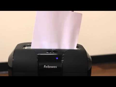 Video of the Fellowes Powershred 53C Shredder