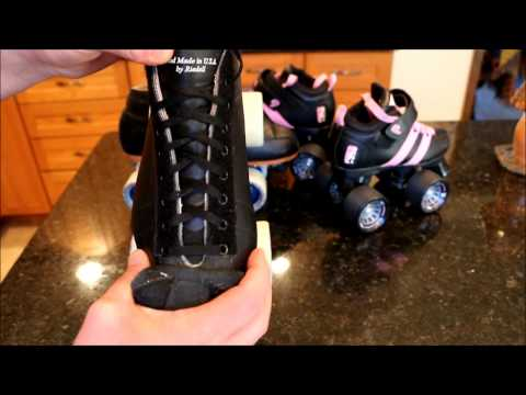 Bringing Back the 90's with Riedell Roller Skates!!