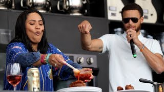 Ayesha Curry has a special guest at BottleRock cooking demo