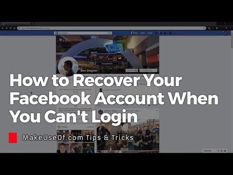 How to Recover Your Facebook Account When You Can't Login