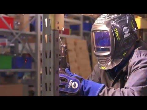 Multimatic 215 multiprocess welder