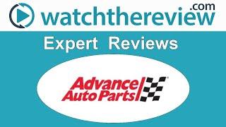 Advance Auto Parts Online Review - Online Auto Parts