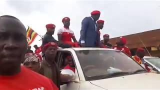 Bobi Wine Ne Besigye  Bayugumizza Hoima