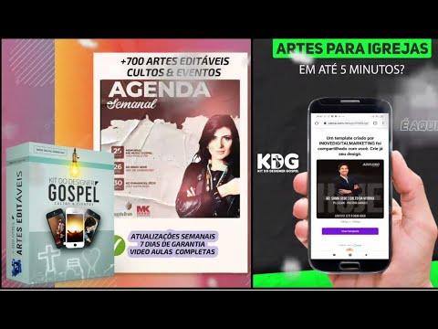 Postagens para Igrejas e Ministrios  Prontas em  Menos de 5 Minutos, com o Kit do Designer Gospel.