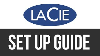 LaCie Mobile Drive How To Install / Set Up External Hard Drive on Mac | Manual | Setup Guide