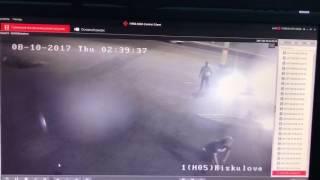 Видео поножовщины полицейских в Таразе