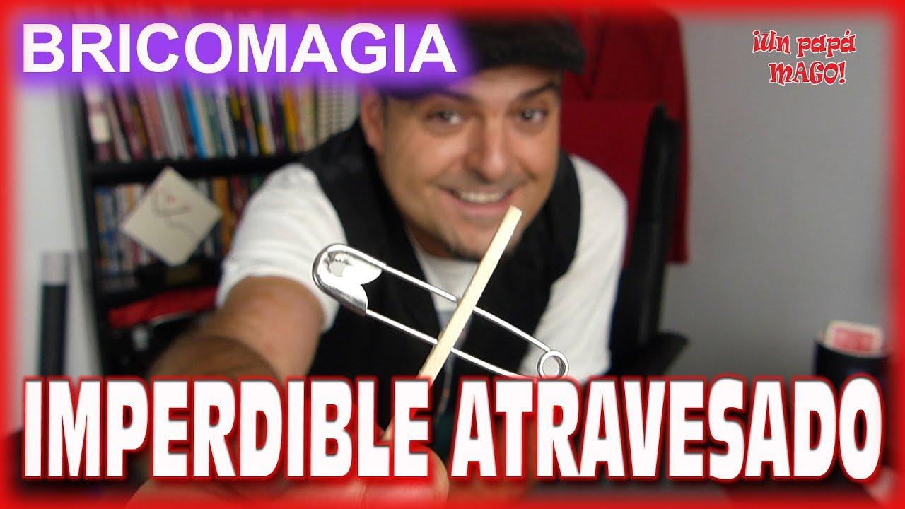 TRUCO DE MAGIA | IMPERDIBLE ATRAVESADO | APRENDE MAGIA | Is Family Friendly
