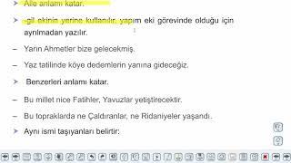 Eğitim Vadisi TYT Türkçe 14.Föy İsimler - 1 Konu Anlatım Videoları