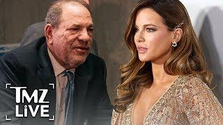Kate Beckinsale Opens Up About Harvey Weinstein Slurs At Her | TMZ Live