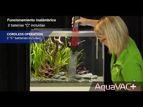 Aspirador para acuarios y cambiador de agua Fluval AquaVac+ 2 en 1