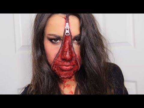 Korkutucu Halloween Makeup