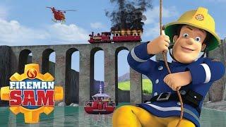 Fireman Sam Season 9 - Must Watch Rescues   Fireman Sam Saves the day again - Cartoons for Children